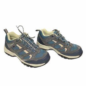 L.L. Bean Dri-Lex sneakers, blue gray women Size 9